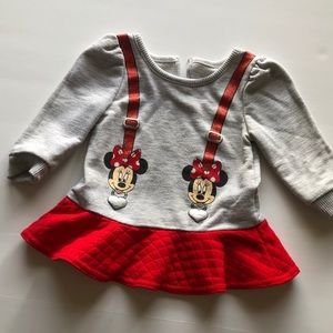Disney Baby Minnie Mouse Long Sleeve Shirt
